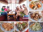 Halong Bay eating